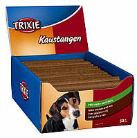Лакомство Trixie Chewing Sticks для собак с курицей, 50 шт, фото 1