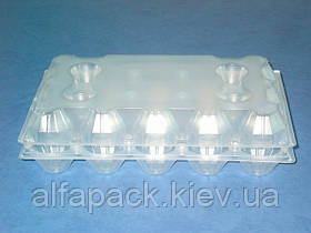 Пластиковая упаковка для яиц 15шт, ПС-3615