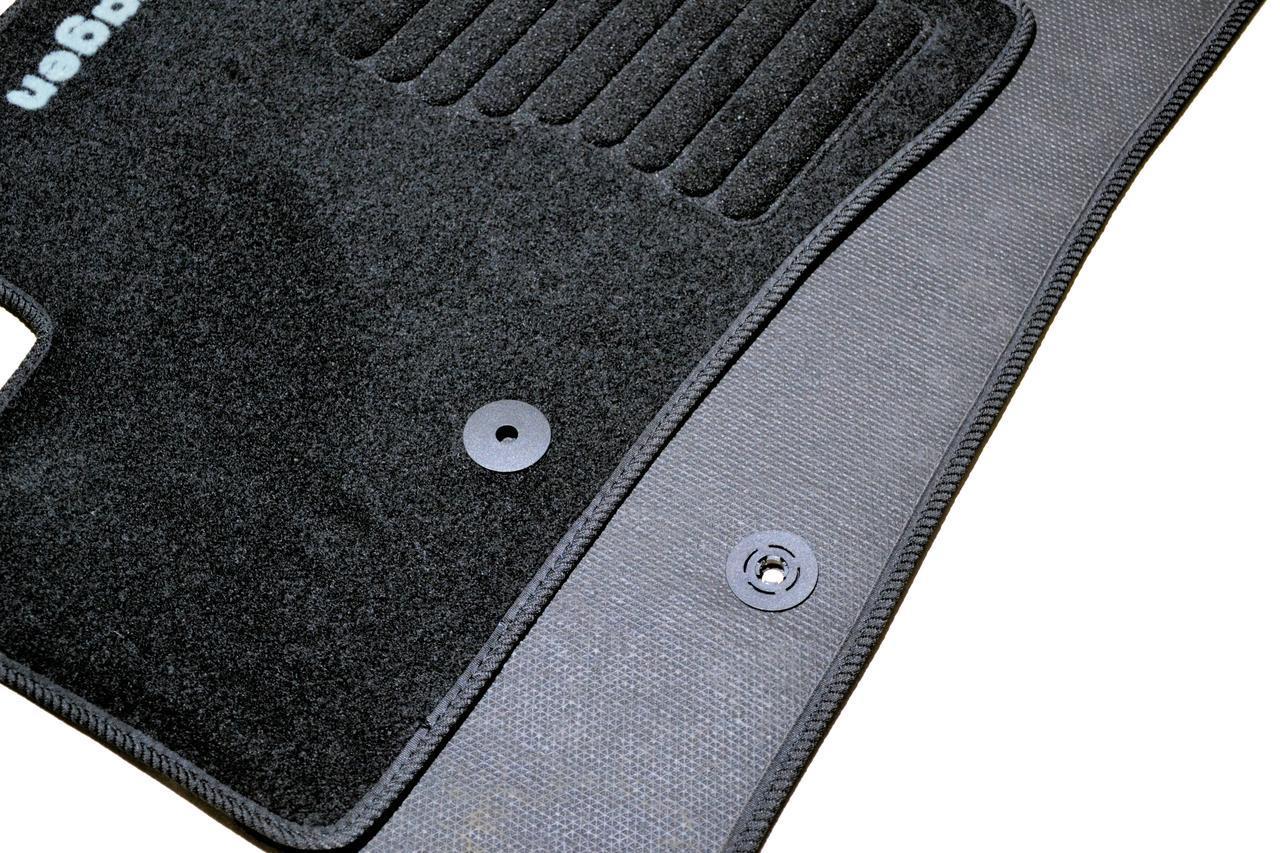 Коврики в салон ворсовые Volkswagen Jetta (2010-) /Чёрные, кт. 5шт