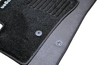 Килимки в салон ворсові Volkswagen Jetta (2010-) /Чорні, кт. 5шт