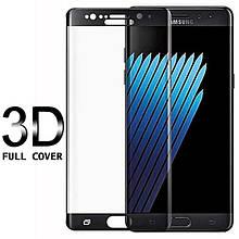 Защитное стекло Fema 3D 9H на весь экран для Samsung GalaxyNote Fan Edition N935 черный
