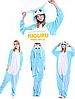 Кролик банни пижама кигуруми. Голубой, фото 2