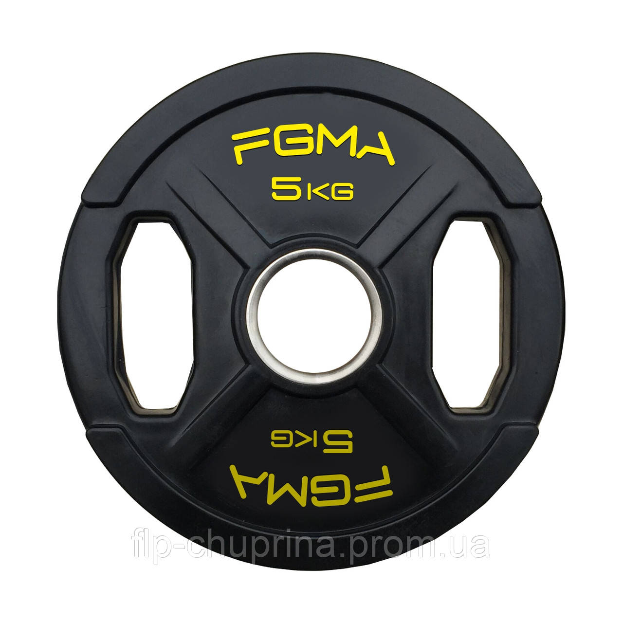 """Диск (блин) для штанги обрезиненный FGMA """"X"""" 5kg"""