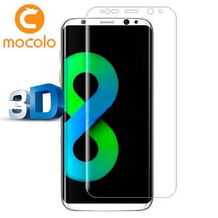 Защитное стекло Mocolo 3D 9H на весь экран для Samsung G950 S8 прозрачный, фото 2