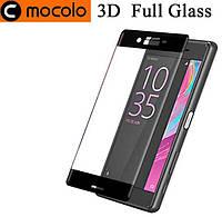 Защитное стекло Mocolo 3D 9H на весь экран для Sony Xperia X F5122 X Performance F8131 черный
