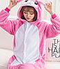 Кролик банни пижама кигуруми. Розовый