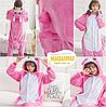 Кролик банни пижама кигуруми. Розовый, фото 2