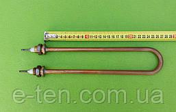 Тэн водяной для дистилляторов 1500W (ДУГА) / 220V / МЕДНЫЙ (на латунных штуцерах Ø18мм)   Tenko, Украина