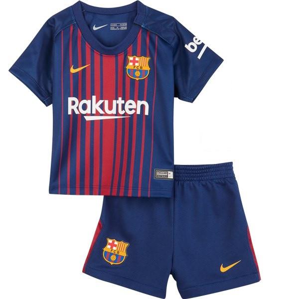 Детская футбольная форма Барселоны, сезон 2017 2018 (домашняя) 9838e50c083
