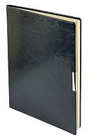 Еженедельник А4 датированный 2018 Buromax Salerno, синий (кремовый блок) BM.2781-02