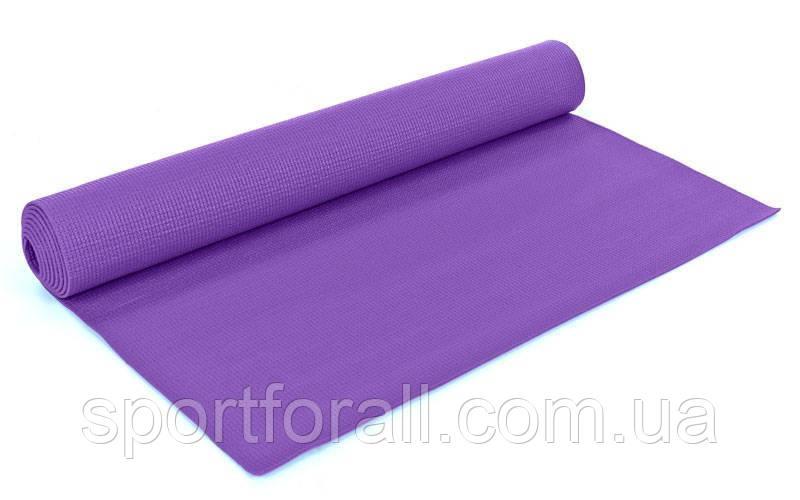 Коврик для фитнеса и йоги YG-2773(V)