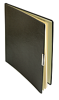 Еженедельник А4 датированный 2018 Buromax Salerno, серый (кремовый блок) BM.2781-09
