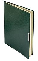 Еженедельник А4 датированный 2018 Buromax Salerno, зеленый (кремовый блок) BM.2781-04