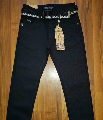 Детские школьные брюки черные 134-164р