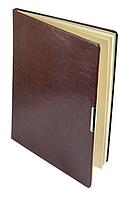 Еженедельник А4 датированный 2018 Buromax Salerno, бордовый (кремовый блок) BM.2781-13