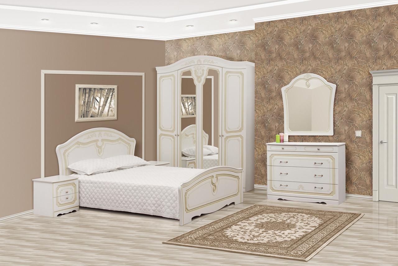 Спальня Луиза  4Д патина, Світ меблів