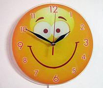 Часы настенные из стекла