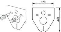 Прокладка звукоизолирующая TECE, фото 1