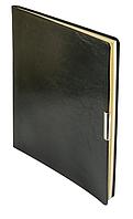 Еженедельник А4 датированный 2018 Buromax Salerno, черный (кремовый блок) BM.2781-01