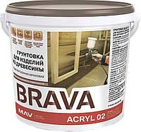 Грунтовка BRAVA ACRYL 02 для изделий из древесины (ВД-АК-02)