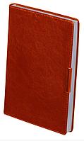 Еженедельник А4 датированный 2018 Buromax Salerno, красный (кремовый блок) BM.2781-05