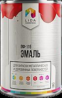 """Эмаль ПФ-115 """"М"""" тм Lida"""