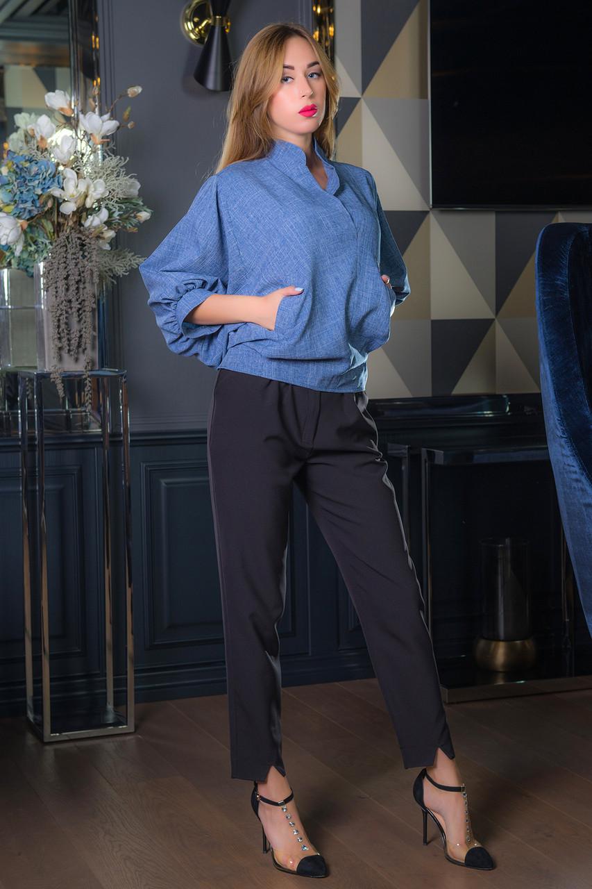 Блузка ЭЛЛАРИЯ синий
