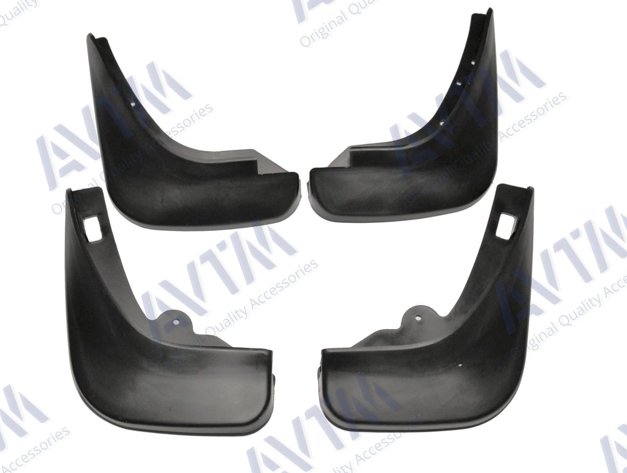 Брызговики полный комплект для Ford Focus HB 2004-2011 комплект 4шт MF.FOFO0411FR