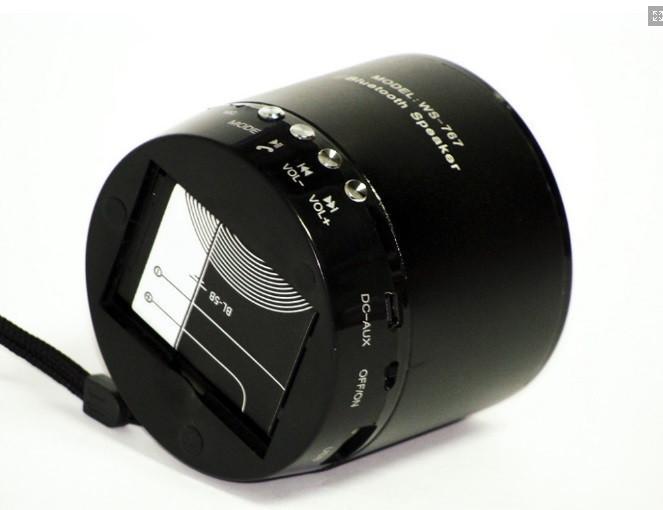 Портативная FM MP3 колонка WS-767