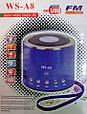 Портативная FM MP3 колонка WSTER WS-A8, фото 3