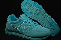 New Balance мятные женские кроссовки