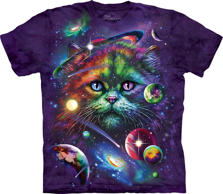 3D футболка The Mountain - Cosmic Cat