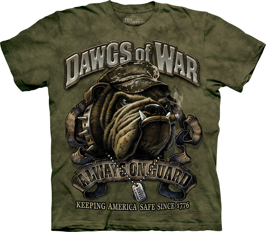 3D футболка The Mountain - Dawgs of War