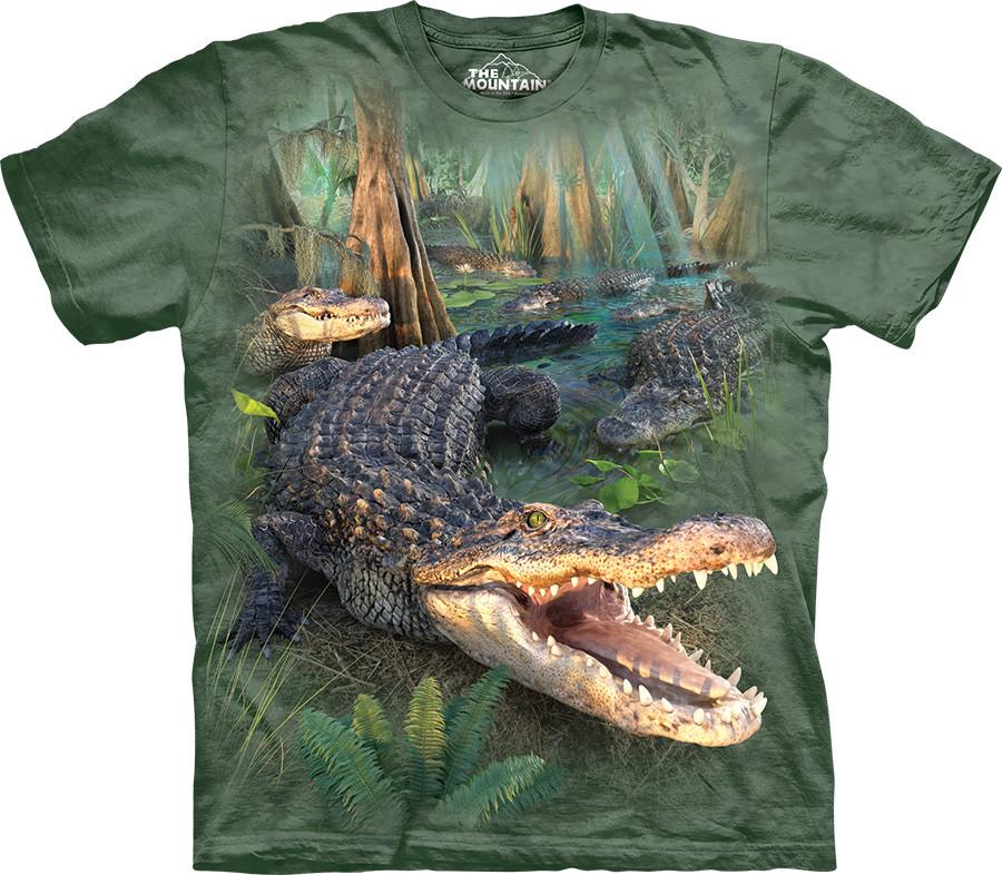 3D футболка The Mountain -  Gator Parade