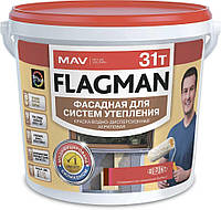 Краска FLAGMAN 31т фасадная для систем утепления (ВД-АК-1031т)