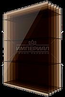 Сотовый поликарбонат 20мм Н5 TM SOTON бронзовый