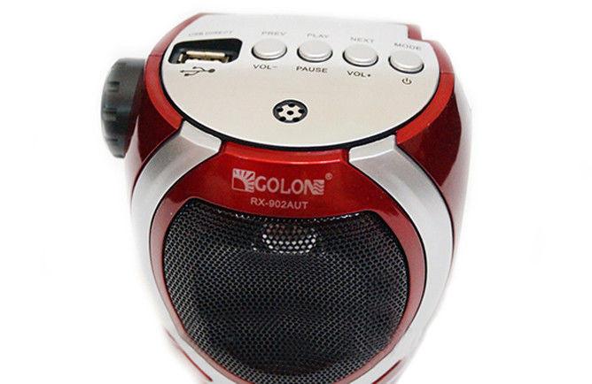 Радиоприемник Golon RX-902 USB+SD, радиоприемник с USB фонариком, колонка радиоприемник golon