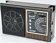 Радиоприемник GOLON RX-98/9922 UAR USB+SD, мультидиапазонный радиоприемник, радио колонка golon, фото 5
