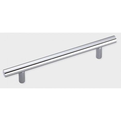 Рейлинговая ручка L=128 мм хромированная