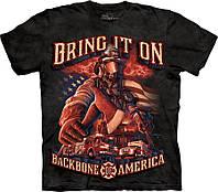 3D футболка The Mountain -  Backbone of America Firefighters