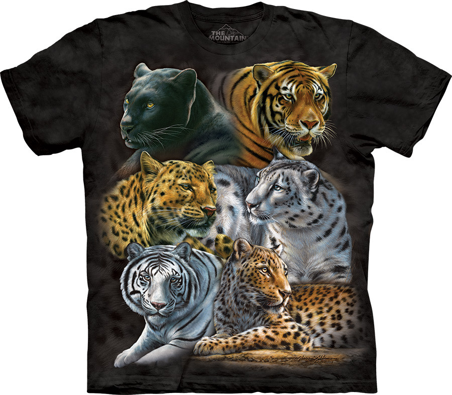 3D футболка The Mountain - Big Cats