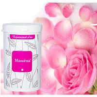 Massena Альгинатная маска полупрозрачная с лепестками цветков 300 гр