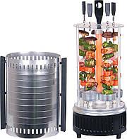 Вертикальная электрошашлычница Аромат, шашлычница электрическая Kebabs Mashine