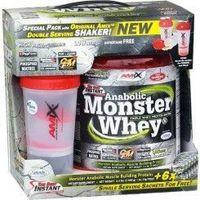Anabolic Monster Whey BOX with Monster Shaker 2 кг lime with yogurt AMIX