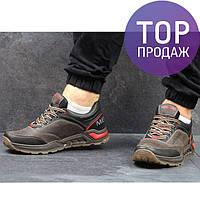 Мужские кроссовки MERRELL, натуральная кожа, коричневые / кроссовки мужские МЕРРЕЛЛ, модные