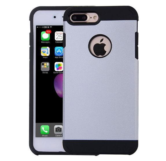 """Противоударный чехол Spigen для Apple iPhone 7 Plus (5.5"""") Silver"""