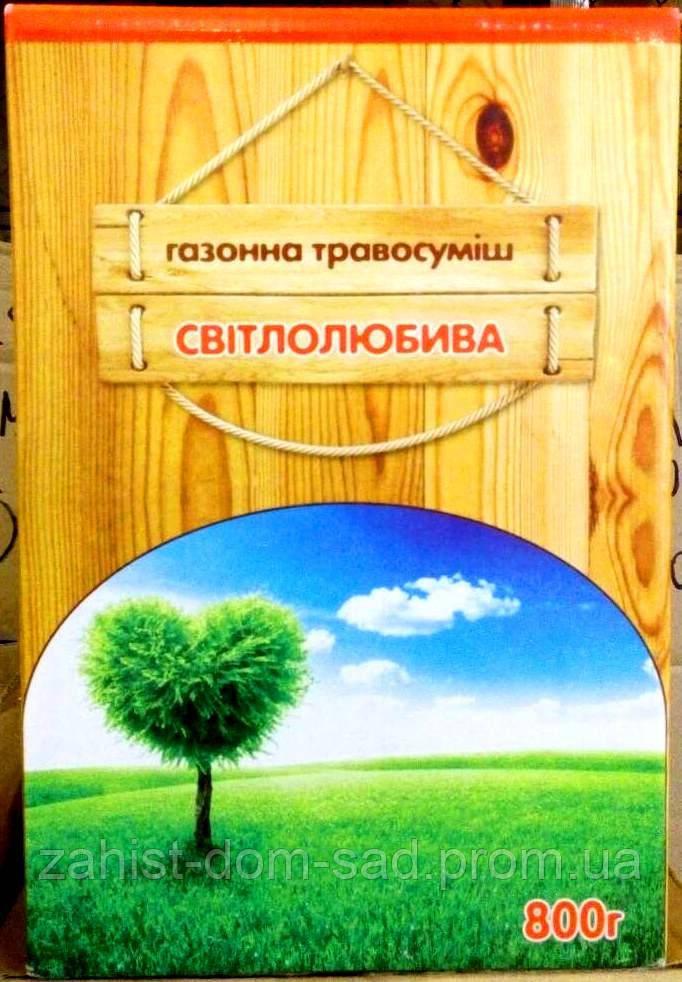 """Трава газонная """"Светолюбивая"""" ТМ """"Вассма"""" 800г"""