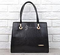 Сумка женская каркасная черная black Bag классическая, Черный
