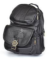 Рюкзак женский черный кэжуал Bao Satchel эко-кожа, Черный