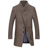 Мужское шерстяное зимнее пальто. Модель 6333